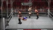 Smackdown Vs Raw 2011 Wwe Universe Ep.3 - Long Cage Match on Raw (gameplay Commentary)