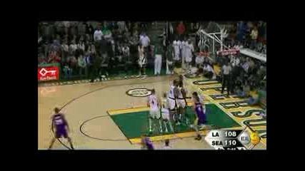 Mix от най - добрите моменти на Kobe Bryant за 07/08