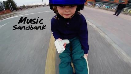 Дете кара електрически скейтборд