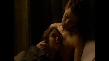 Stefan Salvatore and Elena Gilbert = Stelena