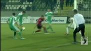 Лудогорец отново мачка 4:0 срещу Локо София ( 15.12.2013 )