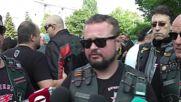 """България: Протести по пътя на тура на """"Нощните вълци"""""""