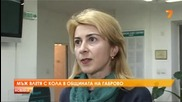 Таксиметров шофьор се вряза в общината в Габрово