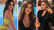 Ким Кардашиян ще ѝ завиди: Щерката на Лияна показа секси извивки на Малдивите