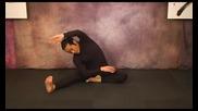 Разтягане и стречинг за бойни изкуства- средно сложни упражнения, част 3
