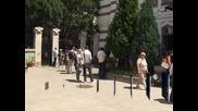 Възпоменателна служба в софийската синагога за жертвите на атентата