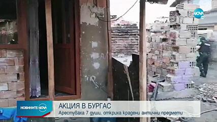 Спецакция срещу битовата престъпност и в Бургас