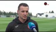 Генчев: Не е само моя заслугата за Лудогорец, Левски е основният конкурент