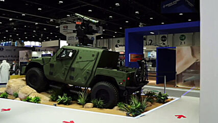 UAE: 'Humvee on steriods' presented at arms expo in Abu Dhabi