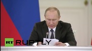 Russia: Putin urges regional support for small and medium businesses