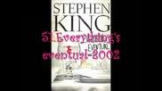 Стивън Кинг - Библиография