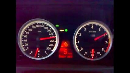 Bmw X6m 0-270 kmh