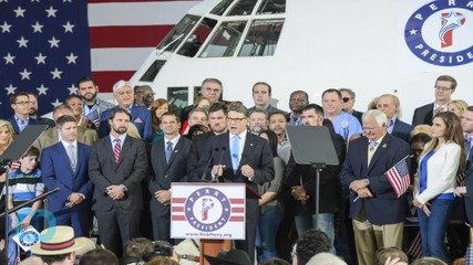 Rick Perry Launches Second Presidential Bid
