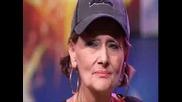 Британски Таланти - 70 Годишна Баба Рап Певица