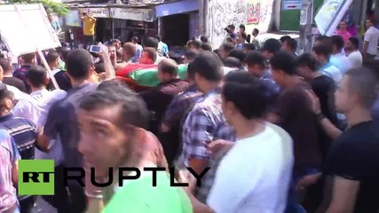 State of Palestine: Hundreds attend funeral of 22-year old Gazan killed by IDF
