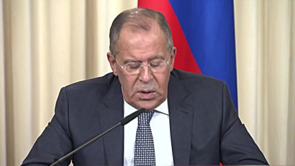 Russia: Lavrov condemns threat of new German-led sanctions against Russia