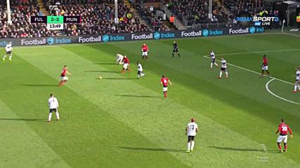 Фулъм - Манчестър Юнайтед 0:2 /първо полувреме/