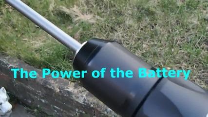 Тест на ударна бормашина на батерии Jcb 20v