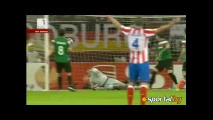 Финал Лига Европа! Атлетико Мадрид 3-0 Атлетик Билбао Фалкао с 2 гола!