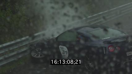 Dragtimes ! Тази жена оцеля като по чудо с този Nissan Gt-r   Full Hd