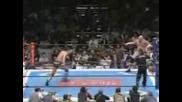 NJPW Kurt Angle & Yuji Nagata Vs. Travis Tomko & Giant Bernard