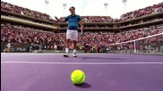 a Toast To Roger Federer - Bnp Paribas Open [ Indian Wells ]