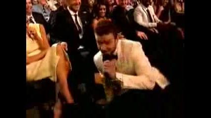 Timberlake smells Beckhams foot - ESPY  2008