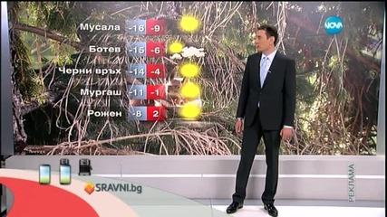 Прогноза за времето (21.03.2015 - сутрешна)