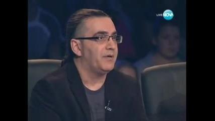 Ангел и Мойсей - X Factor Bulgaria 04.10.2011