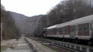 44 070.1 - преминава транзит през гара Мирово