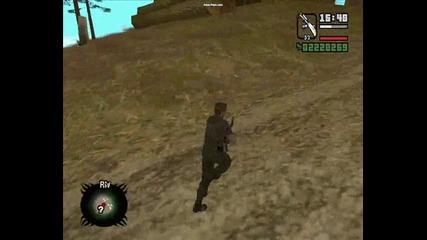 Gta Sa - Umbrella Corp| Wesker Gameplay [любим герой]