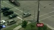 Аматьор от Dallas се опитва да избяга от полицаите