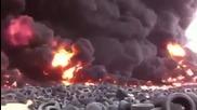 В Кувейт изгарят 7 млн. гуми