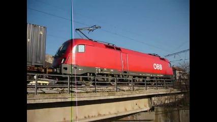 Международен товарен влак през Провадия