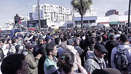 Morocco: Professors demand inclusion in public service at Casablance protest