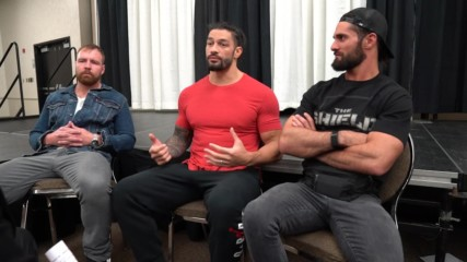 The Shield sits down with Michael Cole prior to their Final Chapter match later tonight: WWE.com Exclusive, April 21, 20
