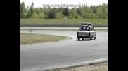 Трабант - немска автоколона