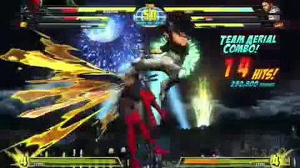 Marvel Vs Capcom 3 - E3 Gameplay 3