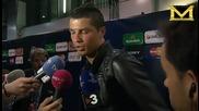 Кристиано Роналдо се оплаква от плъхове