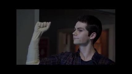 Най-забавните моменти на Stiles от Teen Wolf season3-част 1