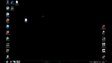 Lock икона на дестопа на Windows 7