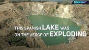 """""""Газово"""" езеро е на път да погуби цяло село"""