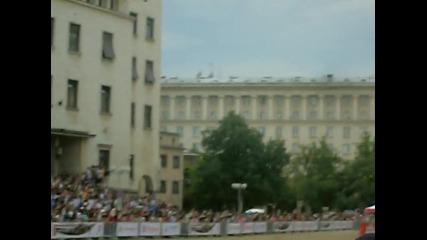 Себастиан Льоб в София 04.07.2010г. - подгряващ тур