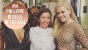 Ava Phillippe upstages everyone at Paris Debutante Ball