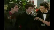 Jonas Brothers At The 2009 Golden Globe Awards Red Carpet