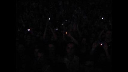 Massive Attack - Teardrop (зала Фестивална 15.07.10)