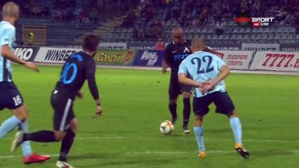 Пак груба грешка на Дунав, пак гол за Левски