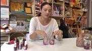 Красиви свещници от бурканчета - ето как да си ги направите!