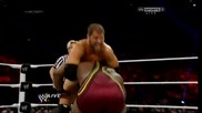 Биг Е Лангстън срещу Къртис Аксел ( мач за интерконтиненталната титла ) / Първична сила 18.11.2013г.