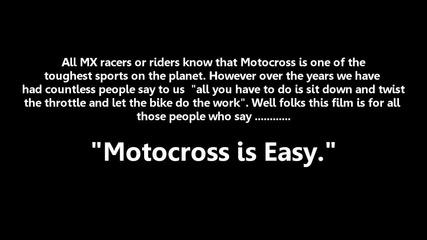 За хората, които казват, че мотокроса е лесен!